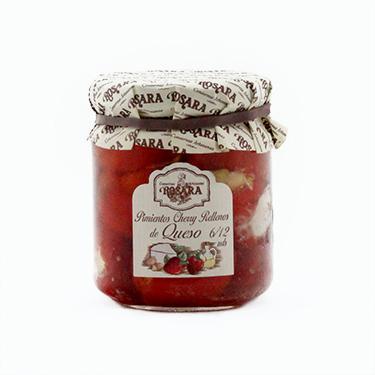 Pimientos-cherry-rellenos-de-queso-Rosara-tarro